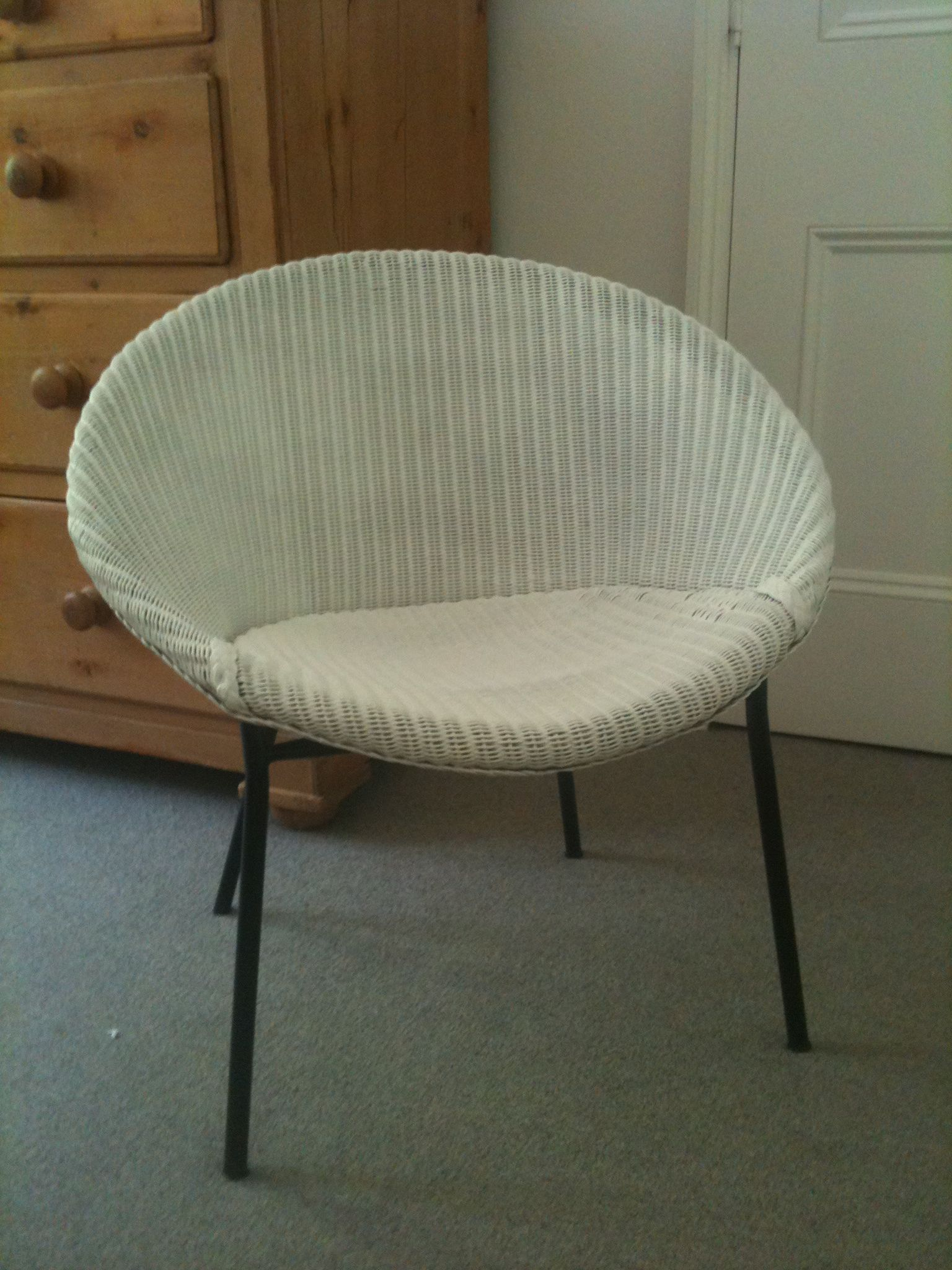 Lloyd loom chair is back carefullycurated uk for H furniture loom chair